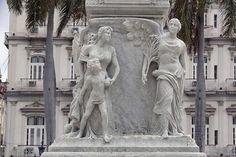 Bas relief details around the statue of José Martí located in the Parque Central, Havana, Cuba (Carol M. Highsmith, photographer)
