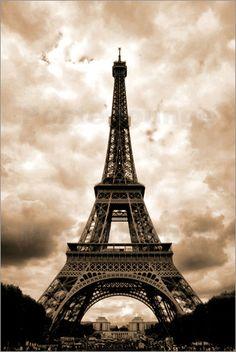 Bind von Clemens Blum - Eiffelturm