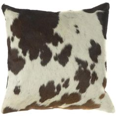 Cow Print Pillows - Set of 2 - Throws And Pillows - Home Accents - Home Decor | HomeDecorators.com