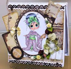 Une création de Cathia, membre de l'équipe créative Boitatou. Besties, Scrap, Card Holder, Tags, Frame, Gifts, Decor, Make A Map, Happy Name Day