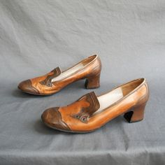 Oh, the vintage shoe...