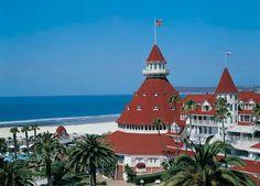 Hotel del Coronado - San Diego, California  (What a GREAT 25th wedding anniversary!)