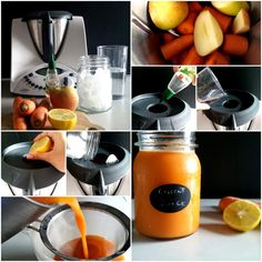 Sumo de cenoura e maça - Isi Bimby