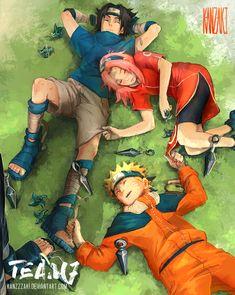 Tags: Fanart, NARUTO, Haruno Sakura, Uzumaki Naruto, Uchiha Sasuke, Pixiv, deviantART, Team 7, PNG Conversion, Fanart From Pixiv, Fanart From DeviantART, Pixiv Id 10514910