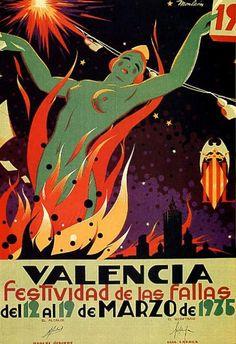 1935 - Las Fallas - Valencia