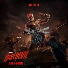 marvel team up: daredevil and ant-man