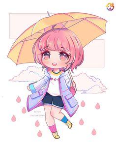 Chibi, Mobile Legend Wallpaper, Coloring Tutorial, Hanabi, Mobile Legends, Manga, Bang Bang, Anime, Art