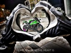 You can't feel out of place if you know where your heart is.  IG: @rev_rr  #sportbike #bikelife #kawasaki #zx10r