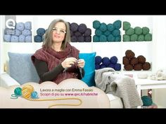 Come avviare le maglie nel giromanica - How to cast on stitches in the armhole - YouTube