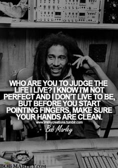 Before you start pointing fingers make sure your hands are clean... wow!!  Love that part!