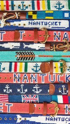 Belts #preppy #ivy #league #fashion