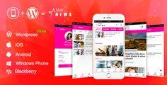 Full Android, iOS Mobile Application for Wordpress Website - Wordpress Mobile Star News App #Admod, #Android, #App, #Blog, #Ios, #Iphone, #Magazine, #Mobile, #News, #Tdmobile, #Wordpress, #WordpressMobileApp https://goo.gl/VtsOrl