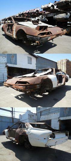 1984 Ferrari 400 GTi Coupe Project Car for Parts or Restoration Salvage Cars, Cars For Sale, Ferrari, Restoration, Fire, Projects, Cutaway, Refurbishment, Blue Prints