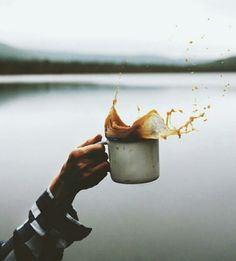 Just a splash of coffee for me.
