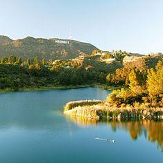 Lake Hollywood Reservoir Walking Trail - Los Angeles, CA