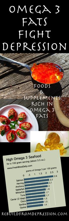 Omega 3 And Depression: The Food And Supplements You Need