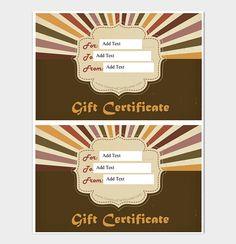 Beautiful Gift Certificate Template  #giftcertificate #freegiftcertificatetemplates #printablegiftcertificate #blankgiftcertificates #editablegiftcertificatetemplate