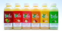 Fuji'tude is a delicious, sweet  apple explosion in your mouth. #tudejuice