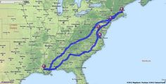 Driving Directions From New Orleans To Panama City Beach
