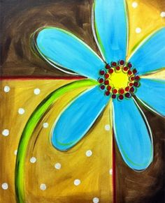 Flower canvas paintings, diy canvas, canvas ideas, canvas art, painting &am Flower Painting Canvas, Flower Canvas, Painting & Drawing, Flower Art, Painting Flowers, Art Flowers, Kids Canvas, Canvas Art, Canvas Paintings