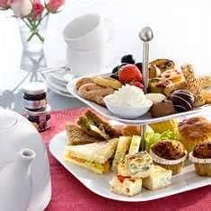 Tea service idea.