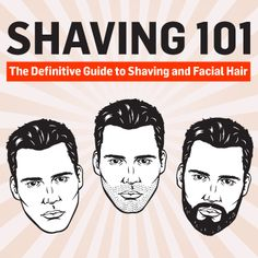 No matter what look you're going for, THESE are the shaving tips, tricks and products you should use. Shaving Tips, Wet Shaving, Shaving & Grooming, Beard Grooming, Beard No Mustache, Shaving Mustache, Beard Care, Beard Growth, Man Up