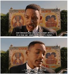 men in black :) I loved that part especially when they were looking at the mind eraser