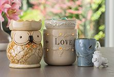 Fragrance Warmers in many styles to suit your style.