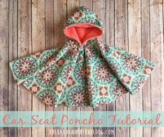 Sewing Projects For Baby Car Seat Poncho – The Baby And The Bulldog Love Sewing, Sewing For Kids, Baby Sewing, Dress Sewing, Sewing Hacks, Sewing Tutorials, Sewing Crafts, Sewing Tips, Dress Tutorials