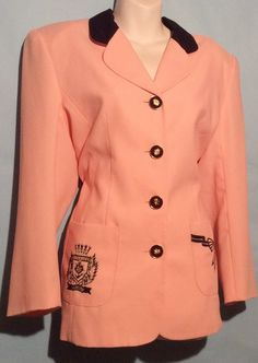 Pink & Blue Vintage Blazer Size M