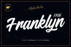 Franklyn 1706 by alphabeta available for $11.00 at FontBundles.net