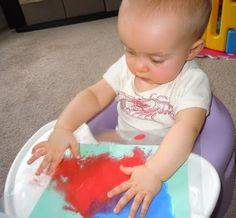 Fun Infant Craft   Adventures as a Small Town Mom
