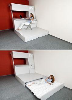 Designing Multifunctional Bedroom | InteriorHolic.com