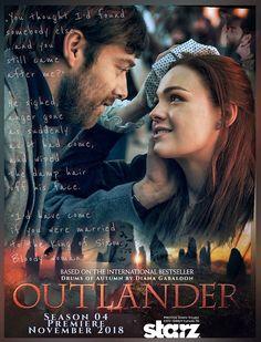 Roger and Bree Outlander Season 4, Outlander Quotes, Outlander 3, Outlander Casting, Sam Heughan Outlander, Diana Gabaldon Outlander Series, Outlander Book Series, True Blood, White Collar