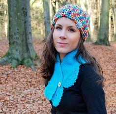 Farebná bavlnená čiapka