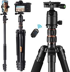 Amazon has the Tripod 77 Inch with Monopod, Max Load Capacity of 18 Lbs, Aluminum Travel Tripod with 360 ° Ball Head & Quick Release Mount, Bluetooth Remote, Suitable for Smartphone and DSLR Camera -MLT05 marked down from $83.99 to $54.59. That is 35% off retail price! TO GET THIS DEAL: GO HERE to go…
