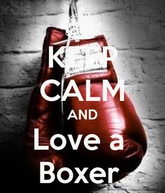 KEEP CALM AND Love a Boxer