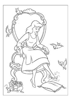 Print Princess Glass Shoes Cinderella S For Coloring Pages