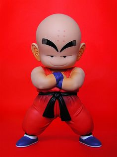 banpresto dragonball vinyl figure: klilyn (2008) | Flickr - Photo Sharing!