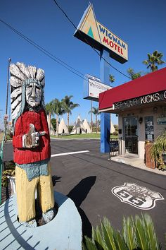 Wigwam Motel, Route 66 - San Bernardino, California