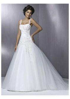 Google Image Result for http://www.hotdress4u.com/images/prom/tulle-strapless-a-line-appliqued-skirt-with-shoulder-straps-lace-up-whoelsale-wedding-dress-wm-0148.jpg