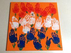 Doek gemaakt voor de veiling van onze zomermarkt met ons thema Nederland Kings Day, Girl Scouts, Arts And Crafts, Around The Worlds, Prints, Projects, Fun, Kids, Painting