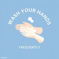 Wash your hands Soap Advertisement, Vow To Be Chic, Hand Washing Poster, Hands Icon, Original Wallpaper, Wallpaper Art, Protest Posters, Hand Hygiene, Typography Poster Design