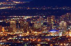 Phoenix, AZ @ night