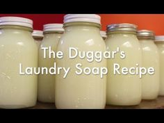 I've made this twice now and use it in my HE front-loading machine - Works very well and you won't wash your clothes cheaper! ~The Duggar's Laundry Soap Recipe & How-To