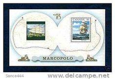 Canada Stamps Marco Polo Souvenir Sheet MNH