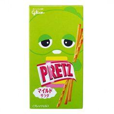 Glico Pretz Mild Salad (◕ᴥ◕) Kawaii Panda - Making Life Cuter