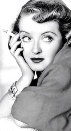 Bette Davis, in 'June Bride', 1948.                                                                                                                                                                                 More