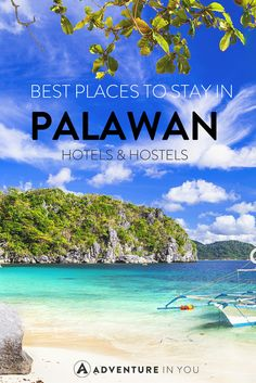Finding that perfect place to stay in Palawan, Philippines is not easy. Here are our top picks for where to stay in Palawan, from budget to luxury! Philippines Palawan, Voyage Philippines, Philippines Vacation, Visit Philippines, Philippines Beaches, Manila, Puerto Princesa, Cebu, Bohol