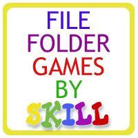 Filefolderheaven- free printables- love file folder games